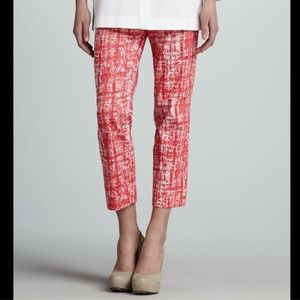 LAFAYETTE 148 NY – Abstract Print Pants – Size 2